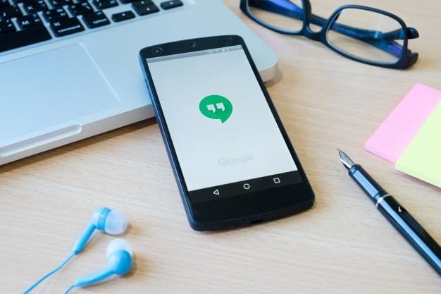 Google hangouts screen sharing