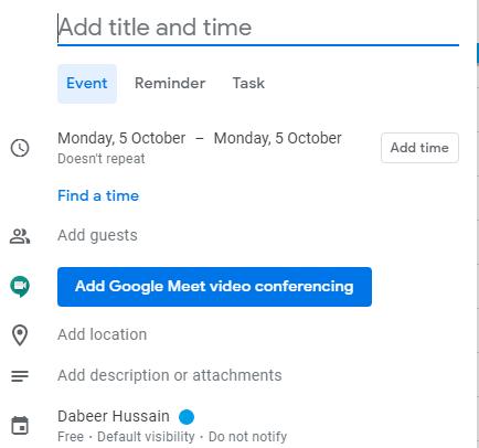 event-setup-to-use-google meet