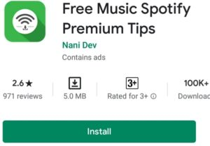spotify-Best-android-smartwatch-apps