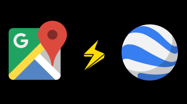 Google Map vs Google Earth