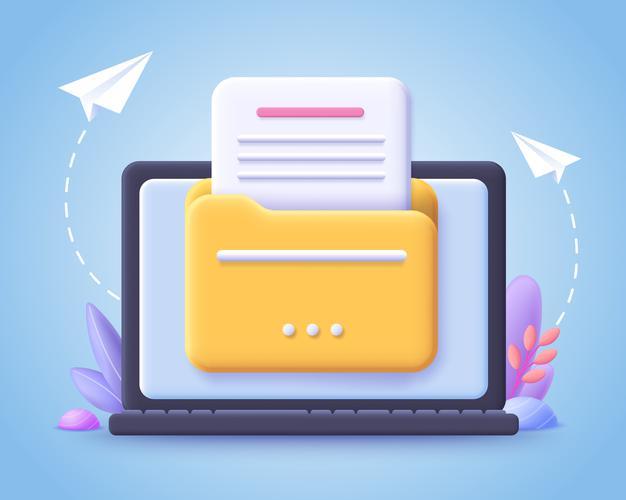 How to create an app folder: