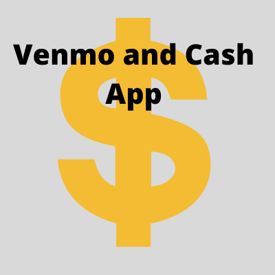 By using a bank account that links to both Venmo and Cash App.